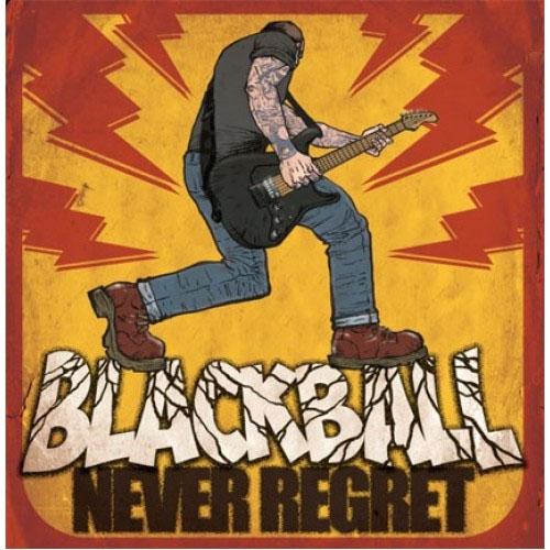 Black Ball- Never Regret LP (UK Import) (Sale price!)