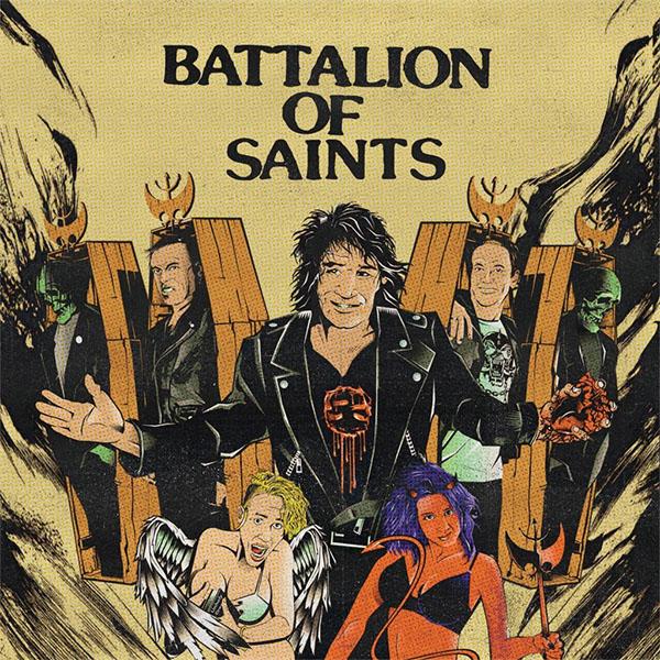 """Battalion Of Saints- S/T 7"""""""