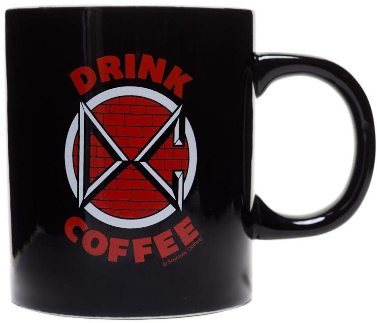 Drink Coffee (Dead Kennedys) Mug from Sourpuss