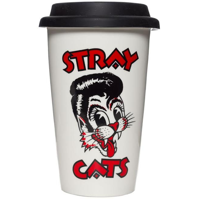 Stray Cats Hot or Cold Drink Tumbler from Sourpuss - SALE