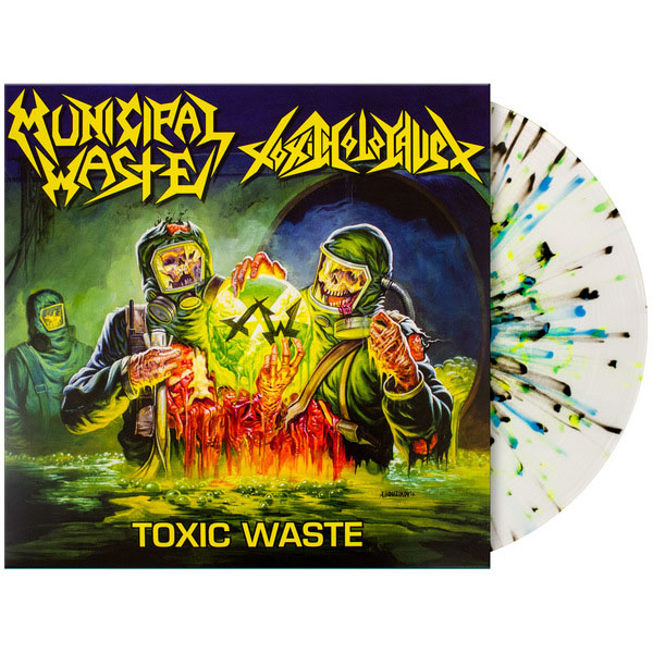 "Municipal Waste / Toxic Holocaust- Toxic Waste 12"" (Ltd Ed Color Vinyl)"