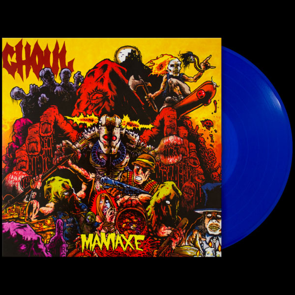Ghoul- Maniaxe LP (Ltd Ed Color Vinyl)