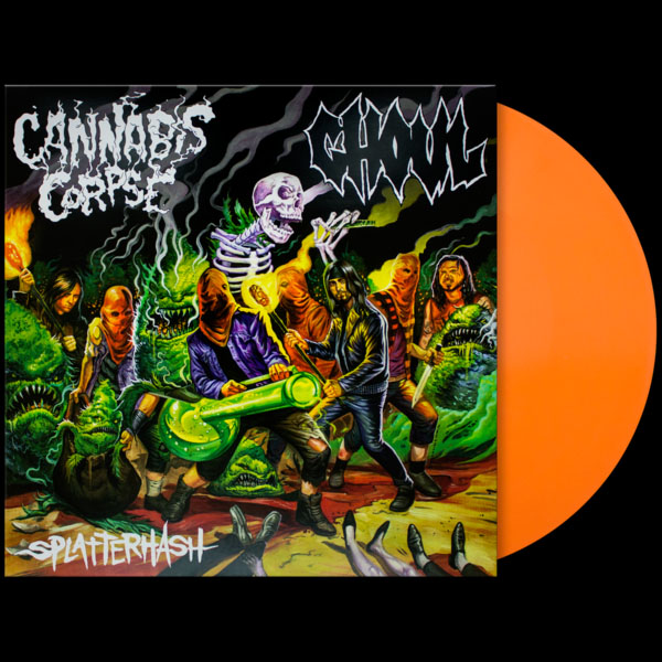 "Cannabis Corpse / Ghoul- Splatterthrash 12"" (Ltd Ed Color Vinyl)"
