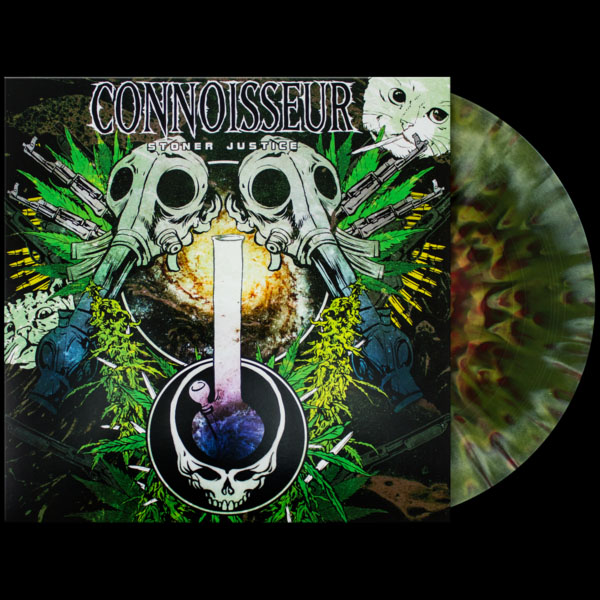 Connoisseur- Stoner Justice LP (Ltd Ed Color Vinyl)
