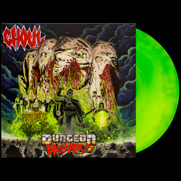 Ghoul- Dungeon Bastards LP (Ltd Ed Color Vinyl, comes with game)