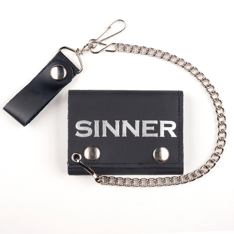 Sinner wallet (comes with chain!)