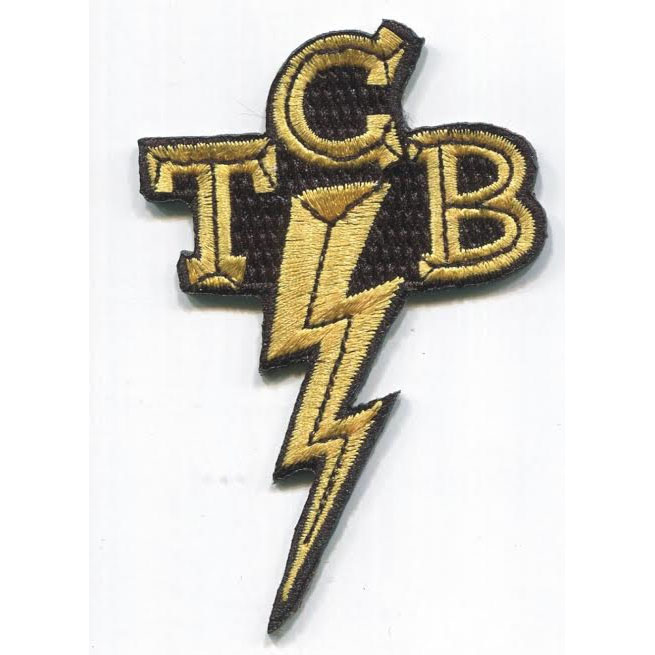 TCB embroidered patch