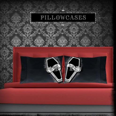 Til' Death Pillow Case Set from Se7en Deadly