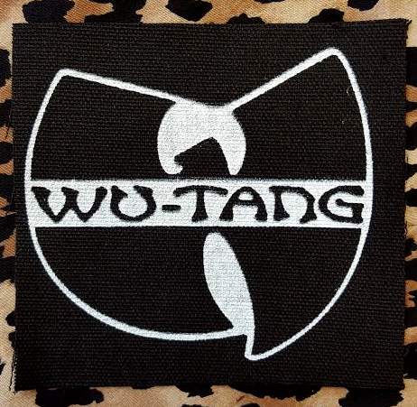 Patch Iron On Sew On Wu-Tang Clan Hip Hop Rap Old