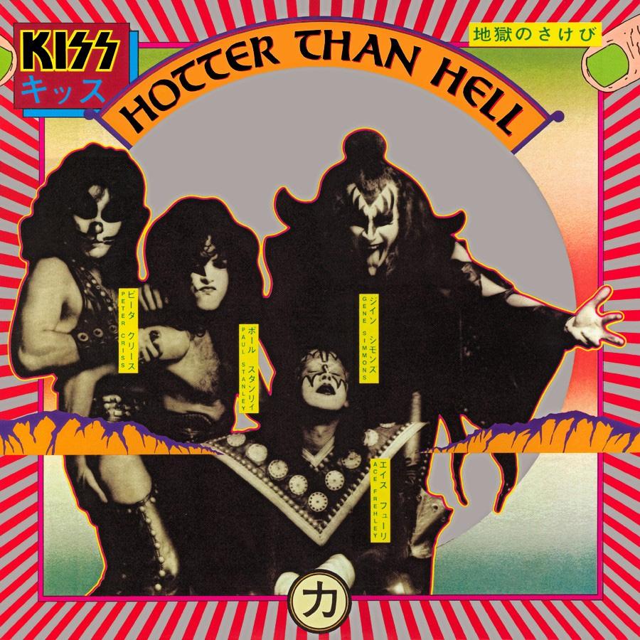 Kiss- Hotter Than Hell LP