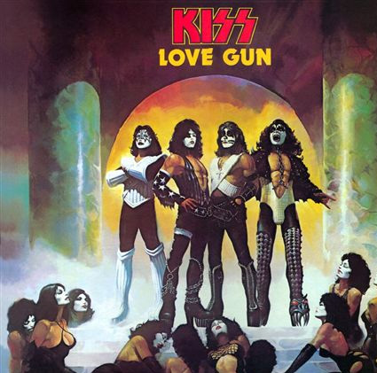 Kiss- Love Gun LP