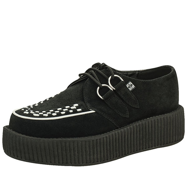 Two Tone Suede Mondo Sole Viva Creeper by Tred Air UK