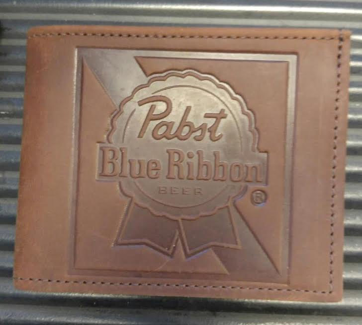Pabst Bi-Fold leather wallet by Switchblade Stiletto
