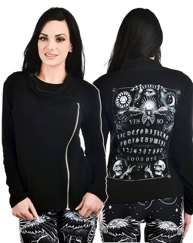Spirit Board Cleo Jacket - by Too Fast Clothing - SALE sz S & L only