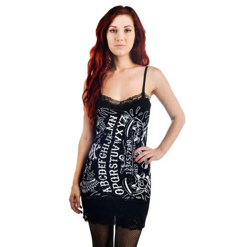 Camille Tunic Tank by Too Fast Clothing - Rest In Pieces - Ouija Board