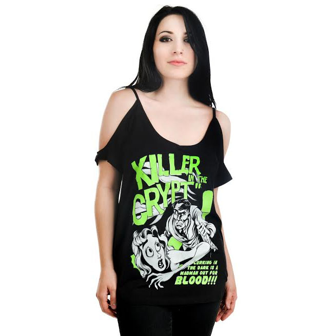 Damnation Shirt by Rat Baby/Too Fast Clothing - Killer Crypt - SALE sz 2X only