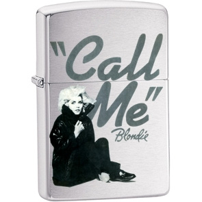Blondie- Call Me on a genuine Zippo brand lighter