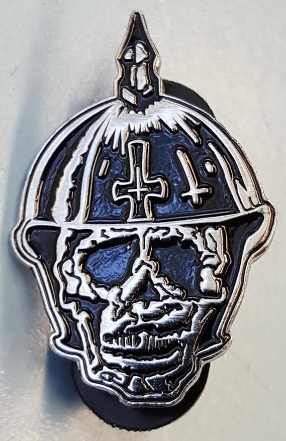 Broken Bones- Skull enamel pin (MP7)