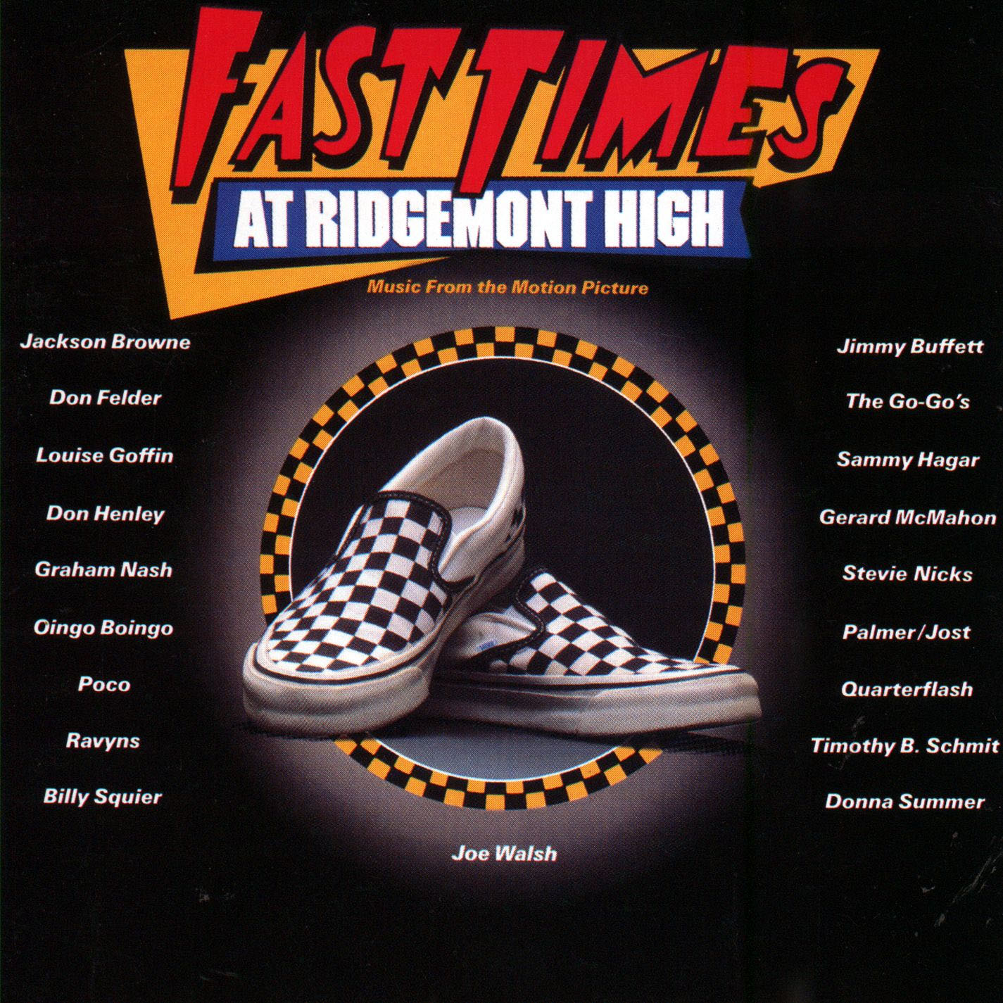 "Fast Times At Ridgemont High (Soundtrack) 2xLP (140gram Vinyl) (Limited Edition Rhino 2017 ""Start Your Ear Off Right"" Series) (Sale price!)"