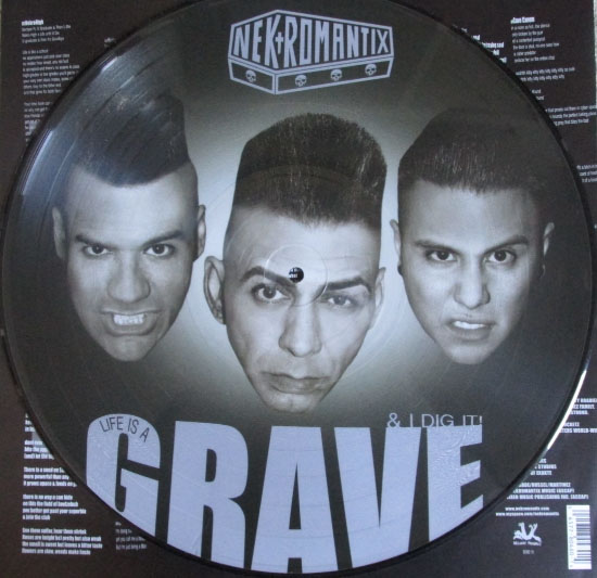 Nekromantix- Life Is A Grave And I Dig It! Pic Disc LP