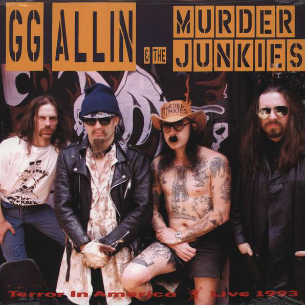 GG Allin- Terror In America LP