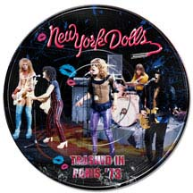 New York Dolls- Trashed In Paris '73 Pic Disc LP