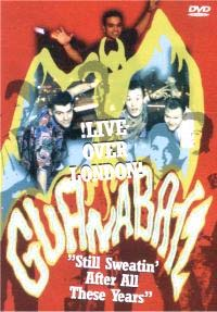 Guana Batz- Live Over London DVD (Sale price!)