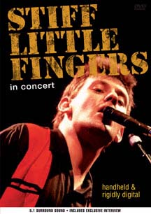 Stiff Little Fingers- Handheld & Rigidly Digital DVD (Sale price!)