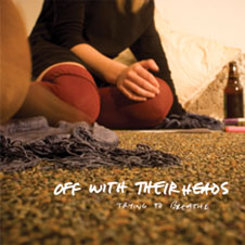 "Off With Their Heads- Trying To Breathe 7"" (Sale price!)"
