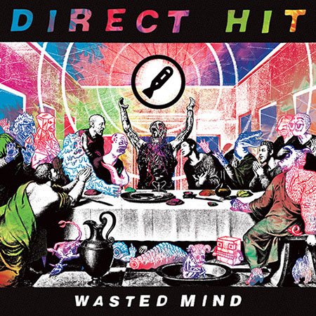 Direct Hit- Wasted Mind LP