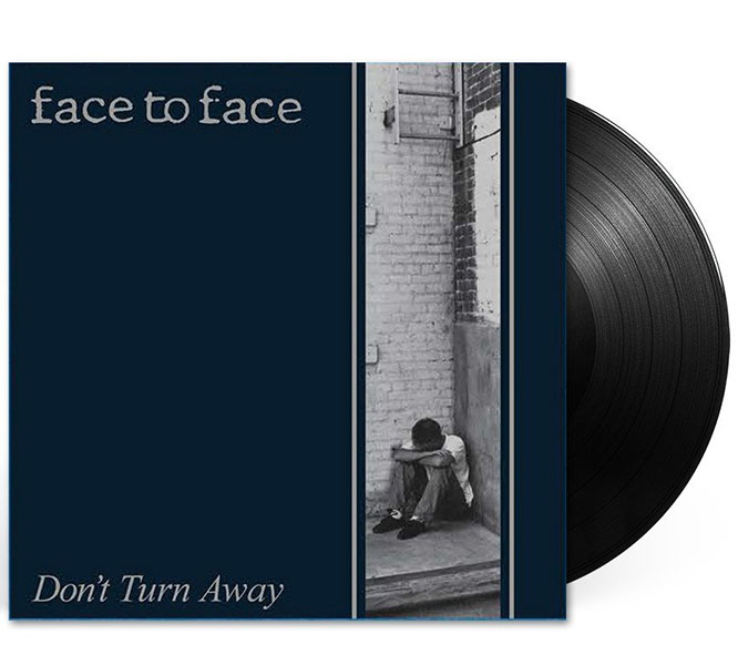 Face To Face- Don't Turn Away LP