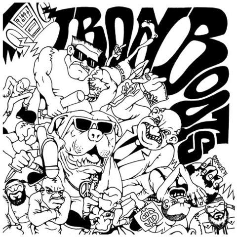 Iron Boots- S/T LP