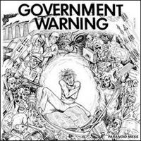 Government Warning- Paranoid Mess LP