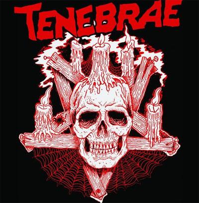 Tenebrae- Skull on a black shirt (Sale price!)