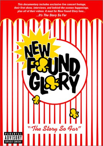 New Found Glory- The Story So Far DVD (Sale price!)