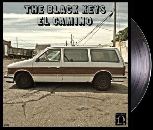 Black Keys- El Camino LP & CD (Comes with poster)