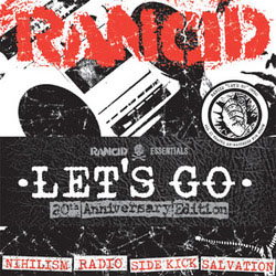 "Rancid- Let's Go 5x7"" (Ltd Ed!)"
