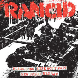 "Rancid- Black Lung / Life Won't Wait / New Dress / Warsaw 7"" (Sale price!)"