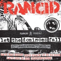 "Rancid- Let The Dominoes Fall 8x7"" (Ltd Ed!) (Sale price!)"