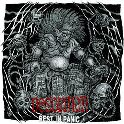 "Desolation- Rest In Panic 7"" (Sale price!)"