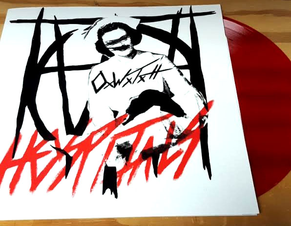 Off With Their Heads- Hospitals LP (10th Anniversary Ltd Ed Hand Screened Cover- Blood Red Vinyl)