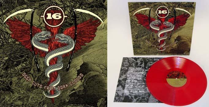 16- Deep Cuts From Dark Clouds LP (Red Vinyl)