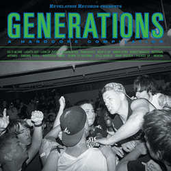 V/A- Generations, A Hardcore Compilation LP (Green Vinyl) (Record Store Day 2016 Release)