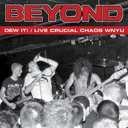Beyond- Dew It/Live Crucial Chaos WNYU LP (Blue Vinyl)