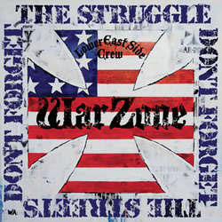 Warzone- Don't Forget The Struggle Don't Forget The Streets LP (Blue Vinyl)