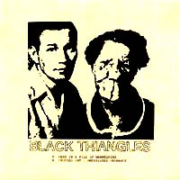 "Black Triangles- Mannequin 7"" (Sale price!)"