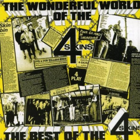 4 Skins- Wonderful World Of The 4 Skins LP (UK Import, Color Vinyl)