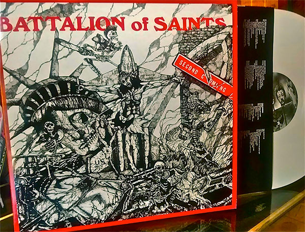 Battalion Of Saints- Second Coming LP