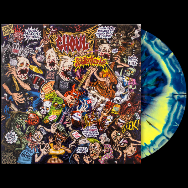 Ghoul- Splatterthrash LP (Ltd Ed Color Vinyl)