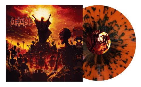Deicide- To Hell With God LP (Color Vinyl) (Record Store Day 2016 Release)